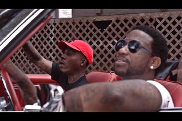 "Lotto Savage Feat. Gucci Mane ""Trapped It Out (Remix)"" Video"