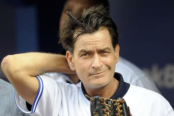 Charlie Sheen Wants To Throw First Pitch At World Series