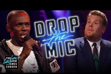 Watch Usain Bolt Rap Battle James Corden