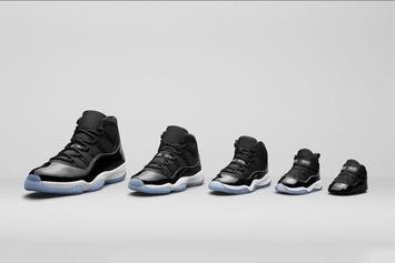 """""""Space Jam"""" Air Jordan 11 Will Be Releasing In Sized For The Whole Family"""
