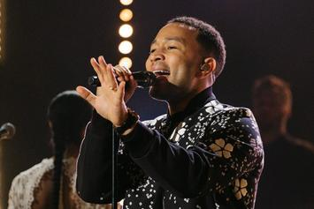 """John Legend Performs """"Love Me Now"""" On """"The Late Late Show"""""""