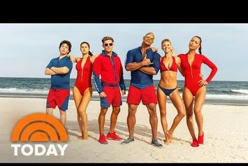 """Watch The Official Trailer For """"Baywatch"""" Starring The Rock"""