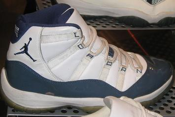 "This ""Midnight Navy"" Air Jordan 11 Might Be Next Year's Holiday Release"