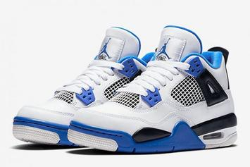 """Motorsports"" Air Jordan 4 Will Be Releasing In Men's And GS Sizes"