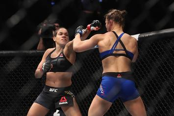 """Amanda Nunes Says Ronda Rousey Is """"For Sure"""" Overrated"""