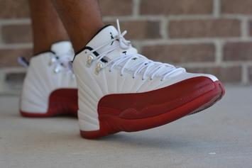 """""""Cherry"""" Air Jordan 12s Will Reportedly Release This Spring"""