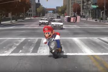 """Watch A Hilarious Mash-Up Of """"Super Mario Odyssey"""" And """"Grand Theft Auto"""""""
