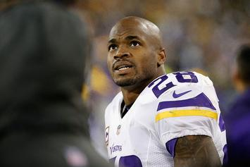 Adrian Peterson Lists Three Teams He'd Like To Join If He Leaves Minnesota