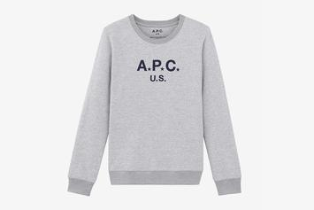 """A.P.C. Drops """"U.S."""" Capsule Collection, Made Exclusively In The United States"""