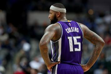 NBA Fines DeMarcus Cousins For Flipping Off Warriors Fan