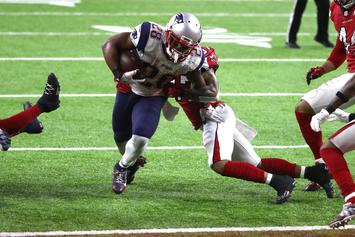 Patriots' James White Forgot To Keep Ball After Super Bowl-Winning TD