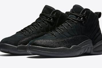 """Black """"OVO"""" Air Jordan 12s Will Be More Limited Than The Yeezy Boosts"""