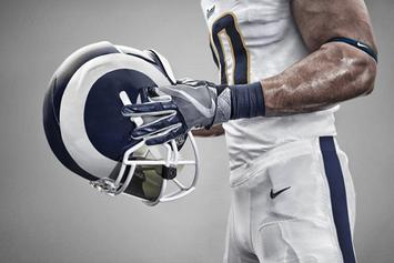 Los Angeles Rams Unveil New Jerseys For 2017 Season