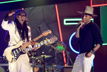 Pharrell To Induct Disco Legend Nile Rodgers Into Rock And Roll Hall Of Fame
