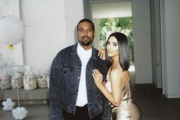 Kanye West Dresses Up As Easter Bunny For A Party At The Kardashians