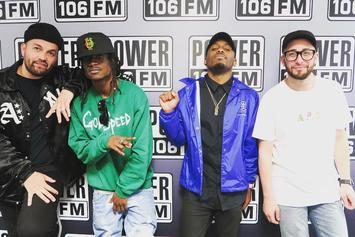 Watch Audio Push Spit A 7-Minute Freestyle For The LA Leakers