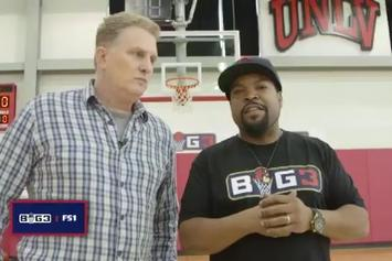 Watch Ice Cube Break Down Big3 League Rules With Michael Rapaport