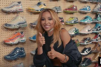 "Watch Tinashe Go ""Sneaker Shopping"" At Flight Club Los Angeles"