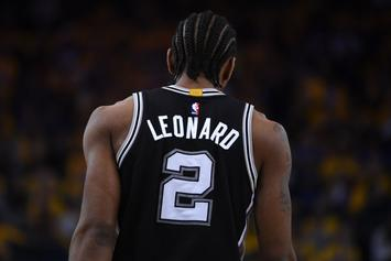 Kawhi Leonard Reinjures Ankle In Game 1 Loss To Warriors, MRI Scheduled