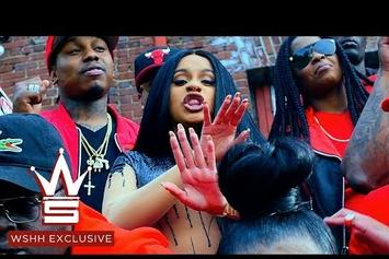 "Cardi B ""Pull Up"" Video"