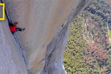 Wild! Alex Honnold Scales Yosemite's 3,000-Foot Wall Of 'El Capitan' Without Ropes Or Safety Gear