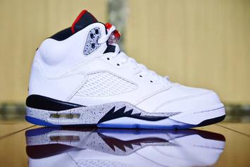 """White Cement"" Air Jordan 5 Release Details Announced"