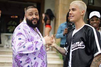 "Justin Bieber Made DJ Khaled Play Him In Hockey Before Recording ""I'm The One"""