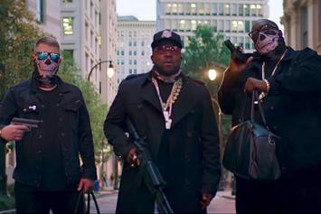 """Danger Mouse Feat. Run The Jewels, Big Boi """"Chase Me"""" Video"""