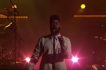 """Khalid Performs """"Location"""" And """"Let's Go"""" On The Late Late Show"""