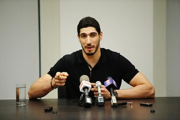 Enes Kanter Says He Would've Been Murdered If Extradited To Turkey