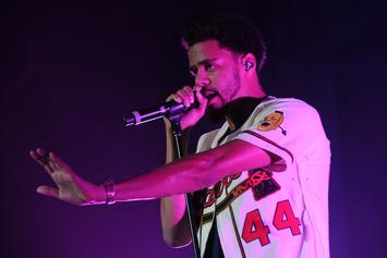 "J. Cole Reveals Secret To ""Neighbors"" Beat During Concert"