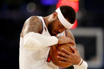 Carmelo Anthony Reportedly Not Interested In Staying With Knicks
