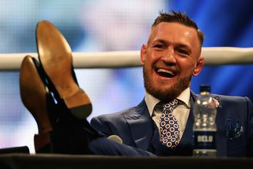 "Conor McGregor's ""F**k You"" Suit Is Available To Own"