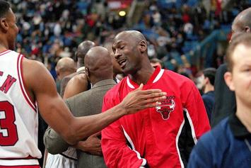 Michael Jordan, Scottie Pippen Back On The Court Together At MJ's Flight School