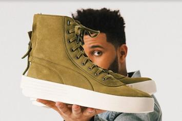 """The Weeknd x Puma Parallel """"Olive"""" Release Details Announced"""