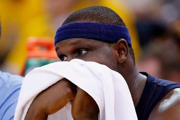 Zach Randolph Arrested For Marijuana Possession With Intent To Sell