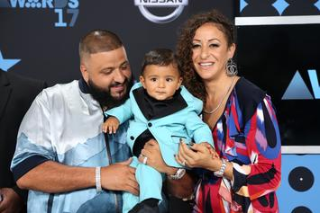 DJ Khaled Enjoys Time With Family In New York City