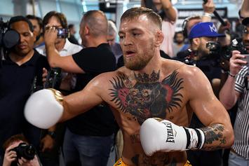 Mayweather Doesn't Think McGregor Will Make 154-Pound Weight Limit