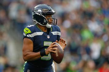 """Twitter Roasts Russell Wilson For Wearing Durag And """"Money Team"""" Hat"""