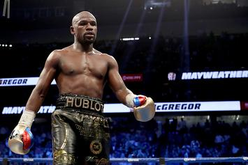 Member Of Floyd Mayweather's Entourage Reportedly Assaulted Fan