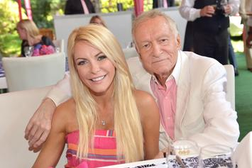 Hugh Hefner's Wife Crystal Harris Was By His Side Until The End