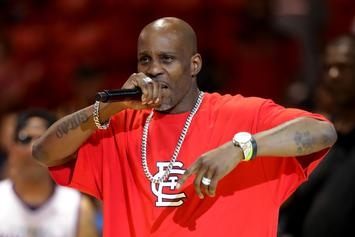 DMX Looks To Have Gained Some Weight In Rehab