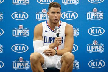Blake Griffin, Kendall Jenner Dine Out In Beverly Hills