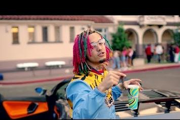 "Lil Pump Brings His ""Gucci Gang"" (And A Tiger) To School"