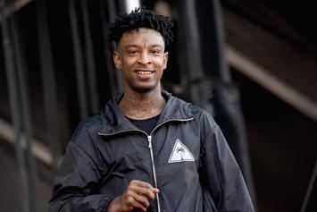21 Savage Flies An Actual Plane In New Video