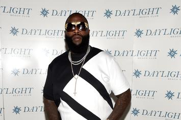 Rick Ross Fed Models Wingstop At Fashion Event