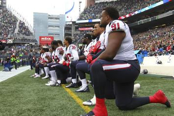 Houston Texans Kneel During National Anthem Follow Bob McNair's Comments