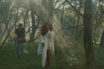 "Watch SZA Perform An Acoustic Version Of ""Go Gina"" In The Woods"