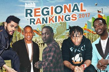 Regional Rankings 2017: Best Cities & Regions In Hip Hop This Year