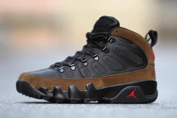 Air Jordan 9 Boots Are Releasing This Month For First Time Ever